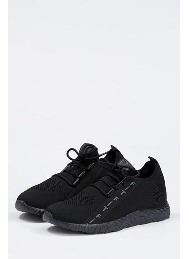 Defacto –Fit Bağcıklı Spor Ayakkabı Siyah
